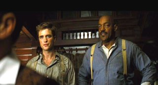 Robert Pattinson & Ken Foree in 'Water for Elephants' (2011)