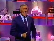 Bruce Forsyth hosting 'Takeover Bid' in 1990