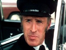 Bruce Forsyth as Clayton in 'The Magnificent Seven Deadly Sins'