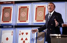 Bruce Forsyth hosts 'Play Your Cards Right'
