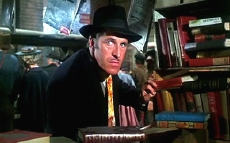 Bruce Forsyth as Swinburne in 'Bedknobs and Broomsticks'