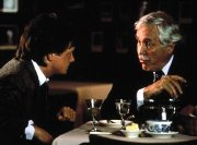 Michael J. Fox & Jason Robards in 'Bright Lights, Big City' (1988)