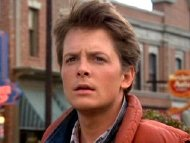 Michael J. Fox as Marty McFly in 'Back to the Future' (1985)