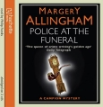 Audio book of Margery Allingham's crime story 'Police at the Funeral' read by Philip Franks