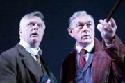 Philip Franks & Peter Egan in 'The Hound of the Baskervilles'