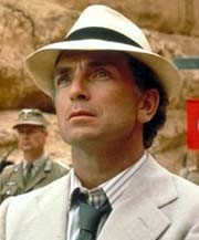 Paul Freeman as Rene Belloq in 'Raiders of the Lost Ark'