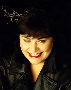 Dawn French signed photograph