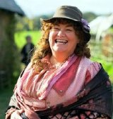 Dawn French as Caroline Arless in 'Lark Rise to Candleford'