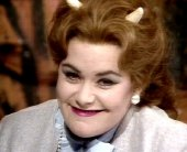 Dawn French as Satan in 'The Young Ones'