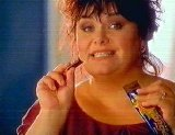Dawn French advertising Terry's Chocolate Orange