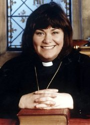 Dawn French as Rev. Geraldine Granger in 'The Vicar of Dibley'