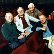 Graeme Garden, Humphrey Lyttleton, Barry Cryer & Tim Brooke-Taylor from 'I'm Sorry I Haven't A Clue'