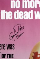 Gaylen Ross signature on 'Dawn of the Dead' poster