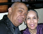 Geoffrey Holder with his wife, Carmen