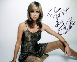 Signed photograph of Susan George