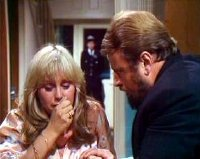 Susan George and Brian Blessed in 'Lambs to the Slaughter' from the TV series 'Tales of the Unexpected'