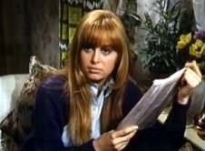 Susan George as Hilda Crompton in 'Spring and Port Wine'