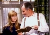 Susan George and James Mason in 'Spring and Port Wine'