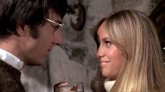 Susan George and Dustin Hoffman in 'Straw Dogs'