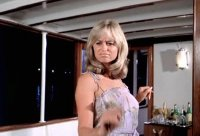 Susan George as Gabriella in 'Tintorera'