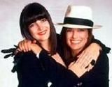 Linda Gray with her daughter Kehly Sloane