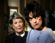 Linda Gray & Barbara Bel Geddes in 'Dallas'