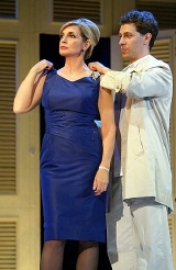Linda Gray & Jonathan Kaplan in the stage version of 'The Graduate'