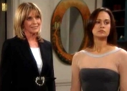 Linda Gray & Sydney Penny in 'The Bold and the Beautiful' (2004-05)