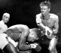 Emile Griffith defeating Luis Rodriguez in 1963