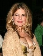 Linda Hamilton at a Hollywood premiere in 2004