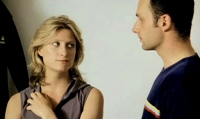Susannah Harker & Andrew Lincoln in 'Offending Angels' (2000)