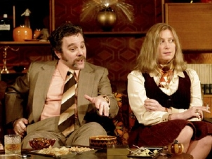 Susannah Harker & Andy Nyman in 'Abigail's Party'
