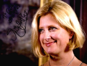 Susannah Harker signed photograph of her as Matilda Simms in 'Midsomer Murders' (2007)