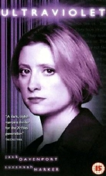 Susannah Harker as Dr Angela Marsh on the cover of the dvd of 'Ultraviolet' (1998)