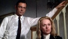 Sean Connery & Tippi Hedren in 'Marnie'