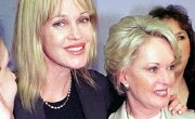 Tippi Hedren with her daughter Melanie Griffith