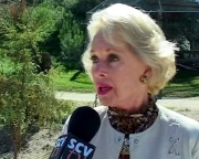 Tippi Hedren interviewed about Shambala for an SCVTV documentary