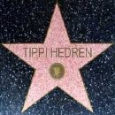 Tippi Hedren's star on the Hollywood Walk of Fame