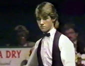 Stephen Hendry in the 1986 Scottish Championships which he won