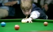 Fourteen year old Stephen Hendry played in 'Junior Pot Black' in 1983