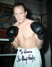 Sir Henry Cooper signed photograph