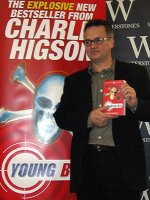 Charlie Higson announces the title of his 3rd Young Bond book 'Double Or Die'