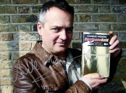 Signed photograph of Charlie Higson
