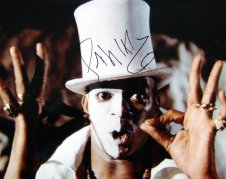 Photograph of Baron Samedi signed by Geoffrey Holder