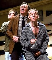 Richard Hope (centre) in 'Donkey's Years' (2007)
