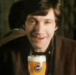 Richard Hope in a commercial for John Smith's lager
