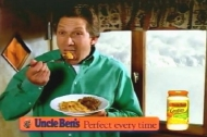 Richard Hope commercial advertising  Uncle Ben's Gratins sauces