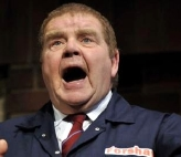 Geoffrey Hughes as Frank in 'Absolutely Frank' in 2009