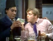 Geoffrey Hughes & Spike Milligan in 'Curry and Chips' (1969)