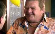 Geoffrey Hughes as Uncle Keith in 'Skins' (2009)